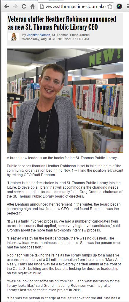 St Thomas Library