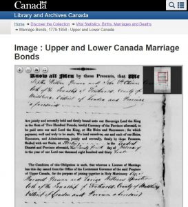 UC Marriage Bond for Lewis Burwell 1834