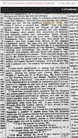 Letter from John Prince 1839