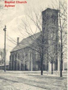 Aylmer Baptist Church