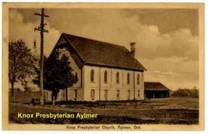 Aylmer Knox Presbyterian Church