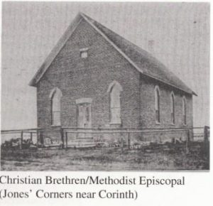 Jones Corners Chrisian Brethren Methodist Church