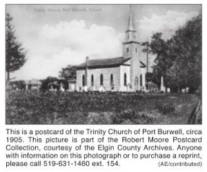 Port Burwell Trinity Anglican Church 1905