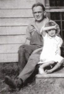 George Chambers and daughter