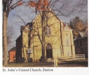 Dutton St. Johns Church New