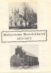 Wallacetown United Church 1875