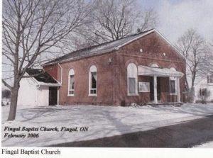 Southwold Fingal Baptist Church