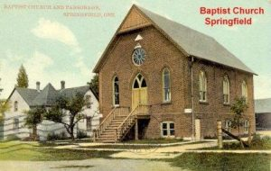Springfield Baptist Church Old