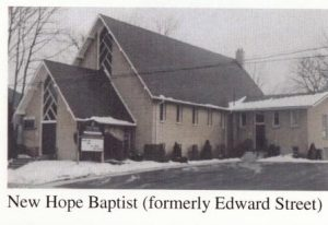St. Thomas New Hope Baptist formerly Edwards Street Church