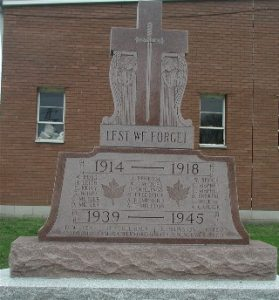 West Lorne Veterans Memorial