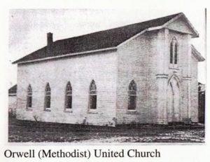 Orwell Methodist United Church