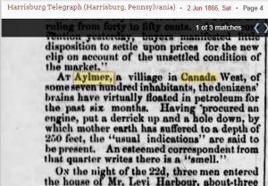 smell at Aylmer 1866